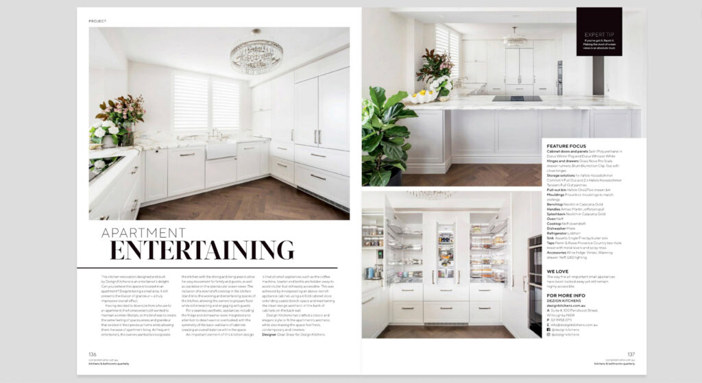 Live By The Sea editorial photography northern beaches press photographer advertising magazines kitchens bathrooms quarterly Narrabeen Sydney