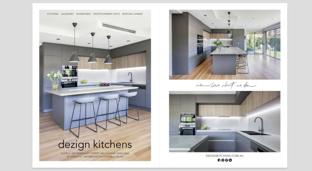 Live By The Sea editorial photography northern beaches press photographer advertising magazines kitchens bathrooms quarterly Sydney